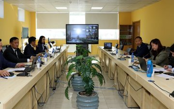 Азийн хөгжлийн банкны төслийн удирдагчтай цахим уулзалт хийлээ