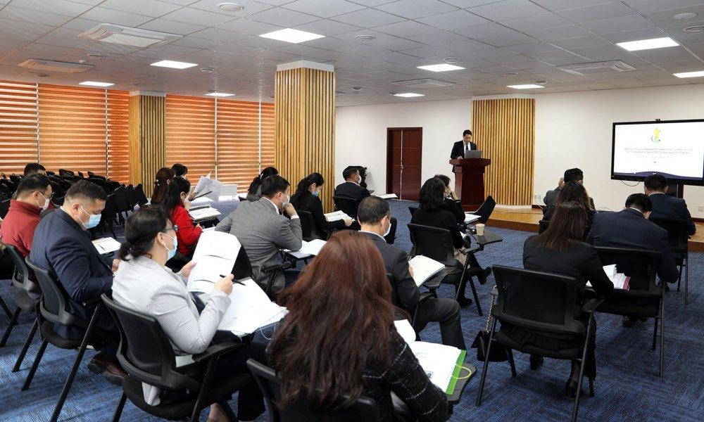 Монгол Улсын Ерөнхийлөгчийн сонгуулийн тухай хуулийг хэрэгжүүлэх ажлын хүрээнд чиглэл өгөх сургалт зохион байгууллаа