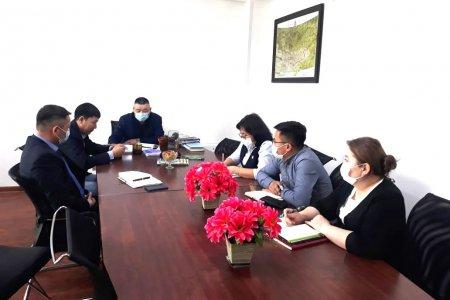 Газрын харилцаа, хот байгуулалтын газрын удирдлагуудтай уулзалт зохион байгуулав
