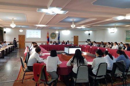 Улсын бүртгэлийн байгууллагын итгэмжлэгдсэн ажилтнуудад хууль эрх зүйн болон программын сургалтыг зохион байгууллаа