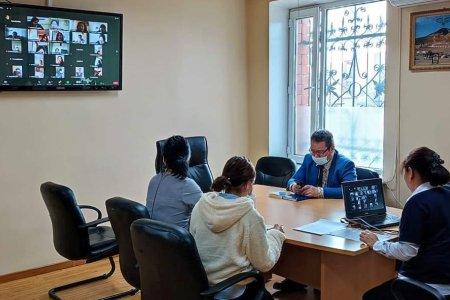 Итгэмжлэгдсэн ажилтнуудад сонгуулийн тухай хууль тогтоомжийг таниулах, зөвлөмж чиглэл өгөх, итгэмжлэгдсэн ажилтнуудтай гэрээ байгуулахад анхаарах асуудлаар цахим сургалт зохион байгууллаа