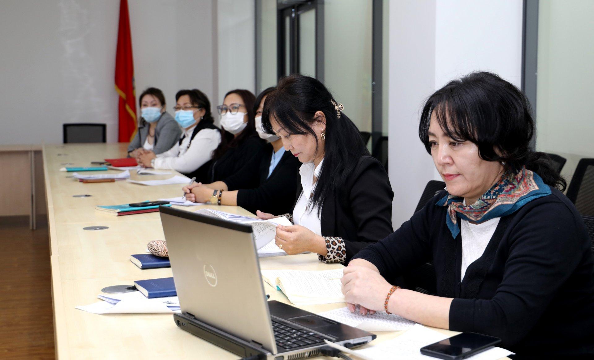 Дипломат төлөөлөгчийн газрын бүртгэлийн ажилтнууд  цахим сургалтад хамрагдлаа