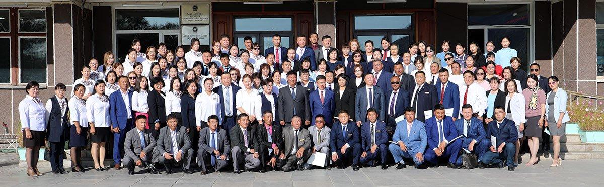 Баруун бүсийн нэгдсэн сургалт өндөрлөж, Говь-Алтай, Ховд, Баян-Өлгий, Увс аймгийн улсын бүртгэлийн хэлтсийн ажилтай танилцлаа