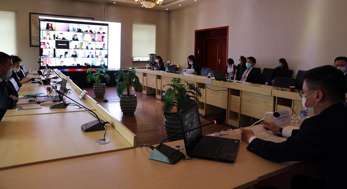 Улсын бүртгэлийн байгууллагын удирдах ажилтны цахим сургалт болж байна